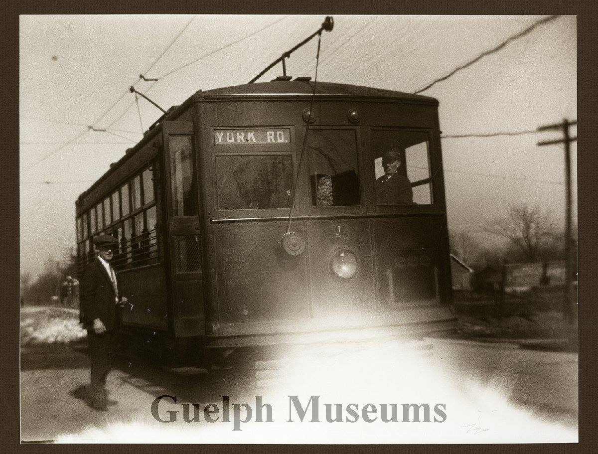York Road Streetcar, ca. 1910_Guelph