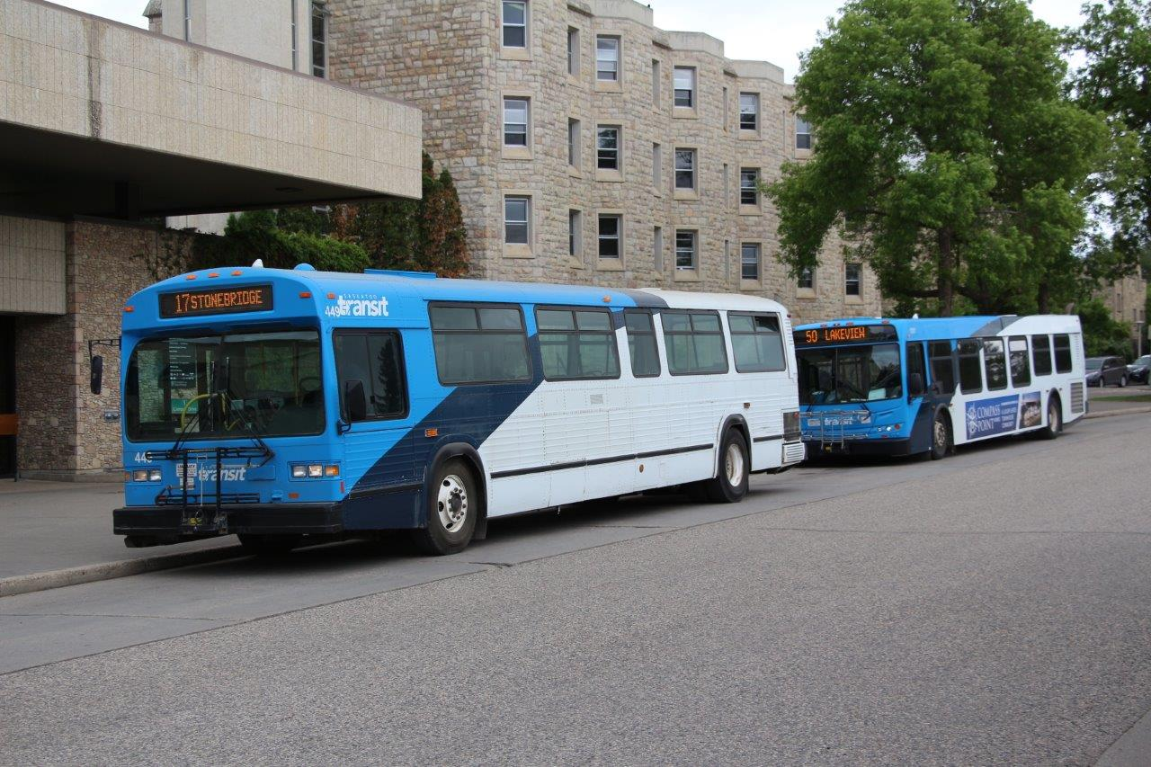 Saskatoon Transit 449 and 1001 - 02JUN18